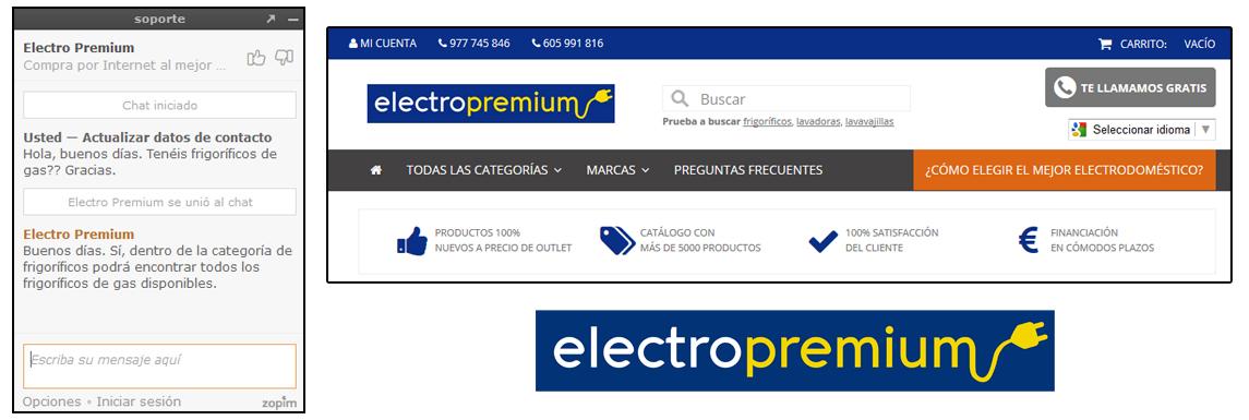 Atención al cliente Electro Premium